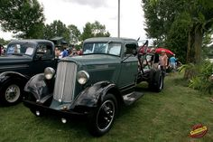 Granby International Classic Car Show - 1934 Dodge Brothers Tow Truck