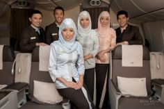 Meet Royal Brunei's cabin crew when you win a luxury holiday to #Melbourne in the airline's business class cabin #SeeAustralia