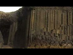 Fingal's Cave - Island of Staff, Scotland: It is formed from hexagonally-jointed basalt columns similar to the Giant's Causeway in Ireland.