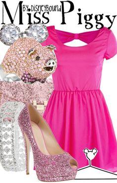 Miss Piggy by disneybound