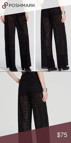 """Free People Brianas High Waisted Pants Super cute pair of Free People Brianas High Waisted Pants. Velvet with lace pattern. Waist 14"""". Inseam 31"""". Side Zipper. New with tags. No trades! Free People Pants"""