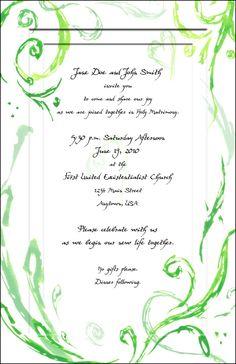 Chevron Wedding Invitations By Anders Printing Company