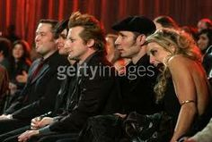 Green day with their wifes!