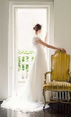 Beautiful shot! We can definitely do this in the doorway to the balcony, Cari.  #wedding