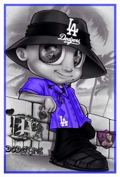 Homie Dodgers Girl, Dodgers Baseball, Baseball Girls, Chicano Drawings, Chicano Art, Los Angeles Wallpaper, Arte Lowrider, Los Angeles Dodgers Logo, Chicago Outfit