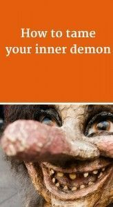 How to tame your inner demon, a post about mindfulness and being kind to yourself