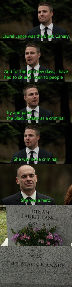 stephen adam amell (oliver jonas queen / green arrow) / paul blackthorne (captain quentin lance) - season 4, episode 19, canary cry