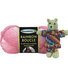 Sensations Rainbow Boucle Yarn Free Crochet Patterns : 1000+ images about 12 Pins of Christmas on Pinterest ...