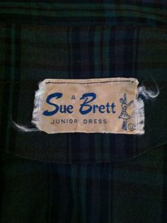 Sue Brett 1960s dress