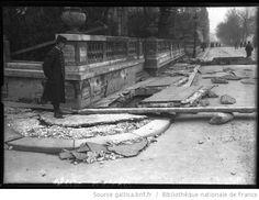 Eboulement de la rue de Bellechasse, 1-2-1910 [inondations de Paris, 7e arrondissement] : [photographie de presse] / [Agence Rol] - 1