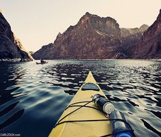 That moment when you're actually out there doing it. Best view ever! (Kayaking the Colorado River)