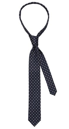 Tie dark blue/blue pattern. Shop here: http://www.vangils.eu/en/ties
