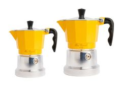 Authentic Stove-Top Espresso Maker from Lidia Bastianich - Great color