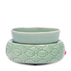 Colonial Candle Ceramic Wax Melter Electric Lattice Dish | Wayfair