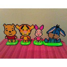 Winnie the Pooh perler beads by diytotal