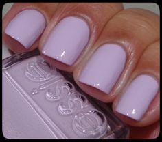 Love this fresh Lavender color! Essie Go Ginza