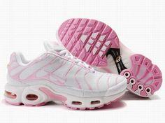 sports shoes 5596c fa356 Nike Air Max TN Femme Chaussures De Course Blanc Rose Nike Air Max Tn, Air