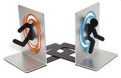Portal Bookends! So cool!!