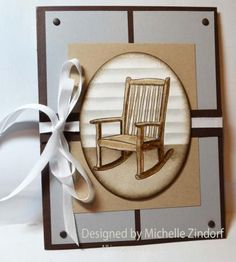 You Rock – Stampin' Up! Card created by Michelle Zindorf