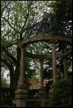 Gazebo at Hazel Abel Park, Lincoln, Nebraska.  My sweet stepdaughter got married in this park.