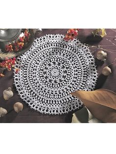 The classic Tatted Antique Lace Doily pattern is available for immediate FREE download!  See a wide selection of free crochet doily patterns at Freepatterns.com.