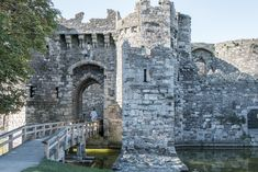Castles | Beaumaris Castle, Anglesey, Wales
