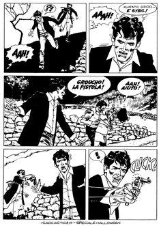 Pagina 50 - L'alba dei morti viventi - lo speciale #Halloween de #iSarcastici4. #LuccaCG15 #DylanDog #fumetti #comics #bonelli
