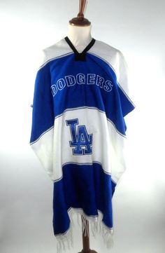 Vintage Los Angeles Dodgers Poncho Excellent by PacificWonderland, $45.00