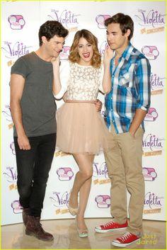 Diego, Martina en Jorge