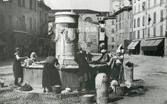 """""""Donne al lavoro"""" - Via San Faustino http://www.bresciavintage.it/brescia-antica/arti-e-mestieri/donne-al-lavoro-via-san-faustino/"""