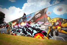 Graffiti ART - Komplex Graphix by Andrew Bourke