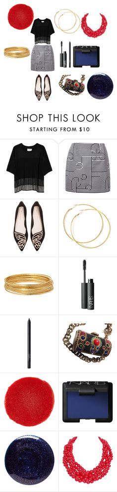 """Arabian nights citified"" by alisafranklin on Polyvore featuring Public School, Victoria, Victoria Beckham, Sophia Webster, Bold Elements, NARS Cosmetics, Christian Louboutin, Lauren B. Beauty, Humble Chic and modern"