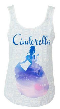 Disney Cinderella Tank Top - $19.90    www.teelieturner.com