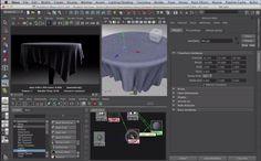 Creating a Realistic Fabric Shader in Maya - Maya