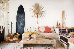 Ride the Surf-Culture Wave into Your Living Room on The Study: The @1stdibs Blog | https://www.1stdibs.com/blogs/the-study/surfboards-in-interior-design/