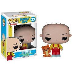 Funko Pop! TV Family Guy, Stewie, Red