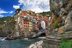 Riomaggiore La Spezia, Italy