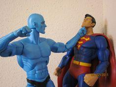 Dr. Manhattan vs. Superman #Watchmen