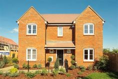 Houses for sale in New Homes For Sale, Tilbury, Fields, Oxford, Houses, Mansions, House Styles, Home Decor, Homes