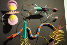 #IrvingHarper - Paper Design Sculptures. Photos taken by curator Katharine Dufault