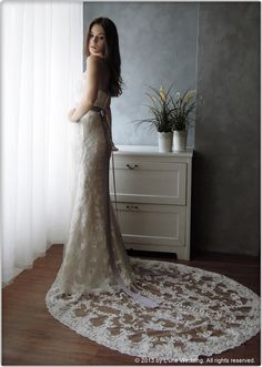 """""""Elegance is the only beauty that never fades!"""" - by Audrey Hepburn  #wedding #gowns #dresses #bridal #lace #love #romance #white #elegant  www.lunewedding.com"""