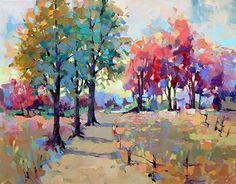 The Way Home by Trisha Adams Oil ~ 24 x 36