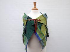women's patchwork wool shawl