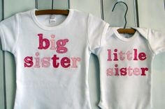 Big Sister/Little Sister - Click image to find more Kids Pinterest pins