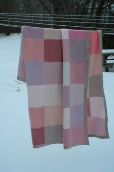 Soft Peony Pink Throw sized Blanket