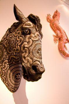 Horse by Joana Vasconcelos