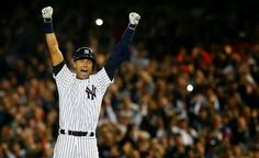 Derek Jeter gets game-winning hit in final Yankee Stadium game, delivers Yankees to win over Orioles Cheer Captain, Captain My Captain, Frank Sinatra My Way, Yankees Baby, Baseball Pictures, Last Game, Yankee Stadium, Derek Jeter, Baltimore Orioles