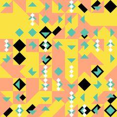 Geometric Shapes / 160706 processing Hexels Hype framework generative art creative coding artists on tumblr geometric geometry generative design gra graphic art Grid code sasj pattern http://ift.tt/29qAq3z