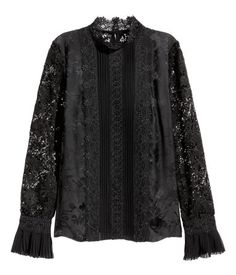 Erdem x H&M Silk Blouse with Lace
