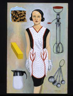 In The Kitchen, David M. Brinley